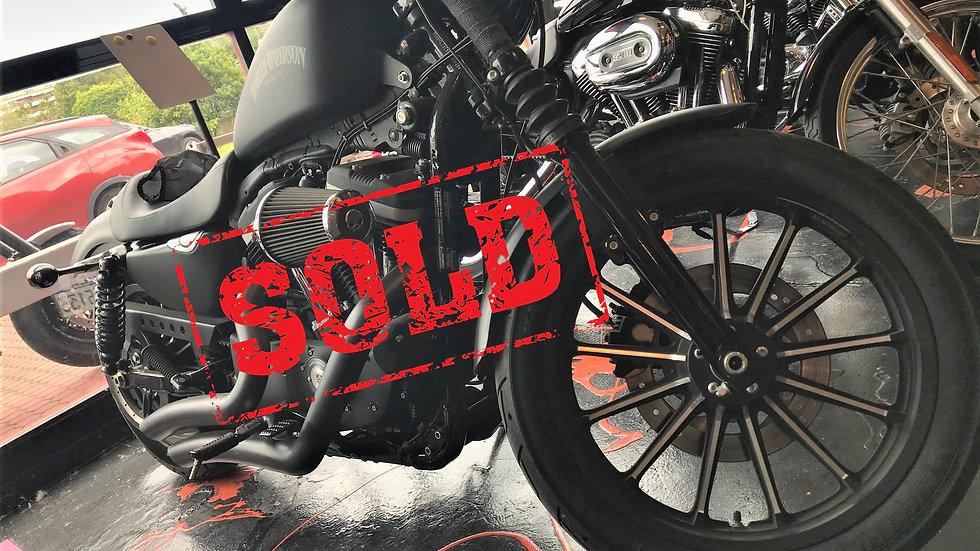 Harley Davidson XL 883 N iron 2013 usata