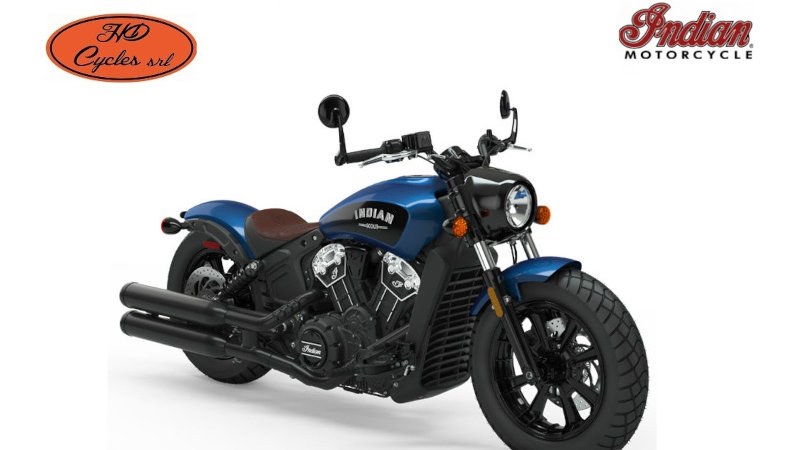 Scout Bobber ICON Brilliant Blue