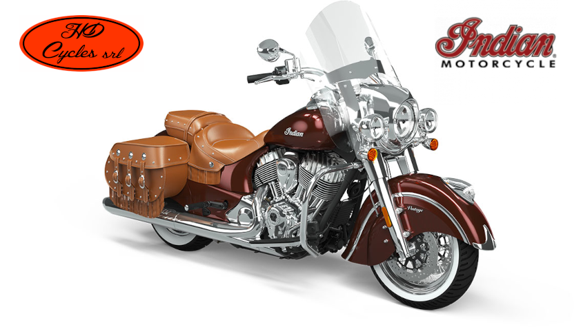 Indian Chief Vintage Crimson Metallic