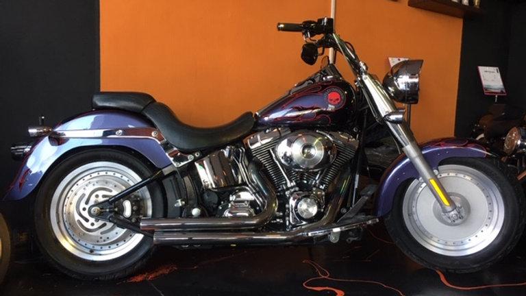 Harley Davidson Fat Boy Devil Flame anno 2004