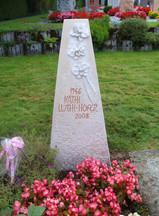 Orchidéen Grabdenkmal