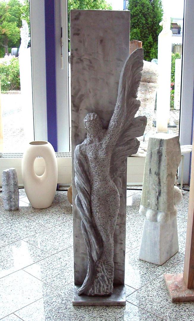 Engel abstrakt Grabstein