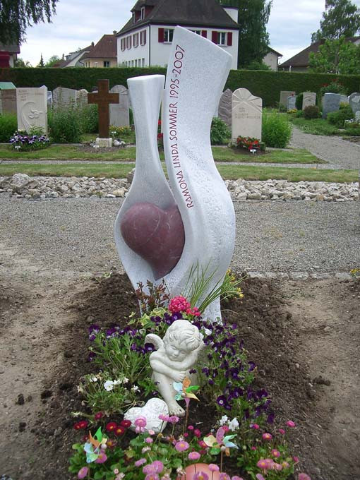 Herz Grabdenkmal