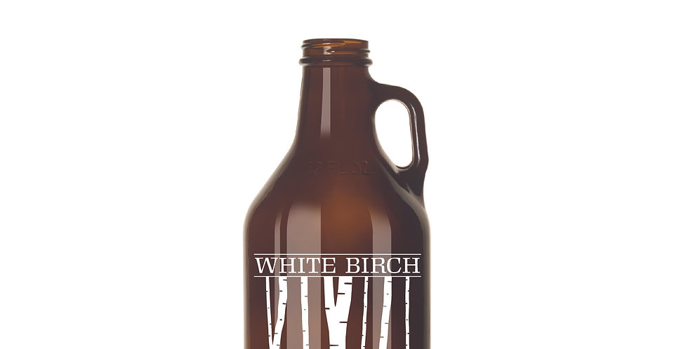 32 oz Amber Beer Growler
