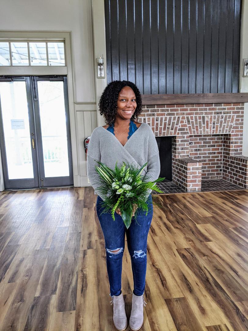 Amie's bouquet