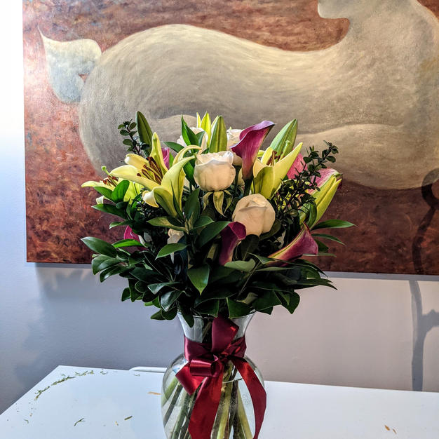 In loving memory floral bouquet