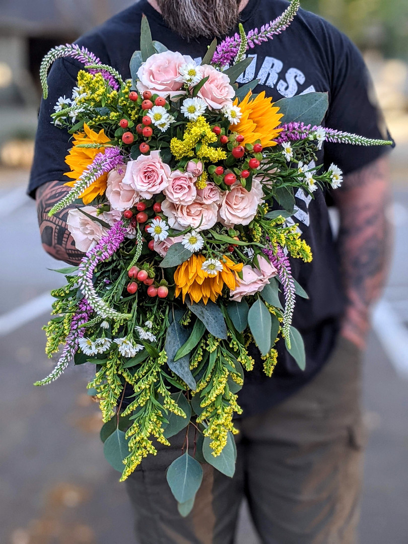 For the garden bride