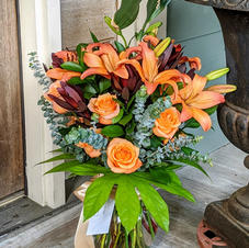 Bright bouquet to show you care