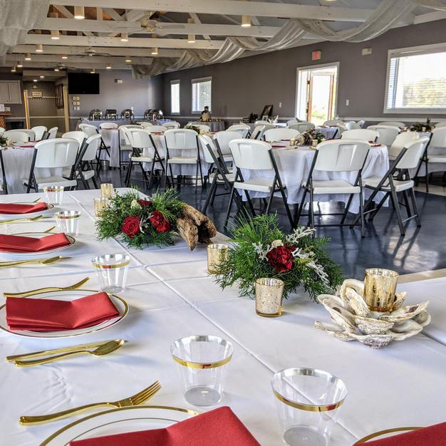 Goldbug wedding reception