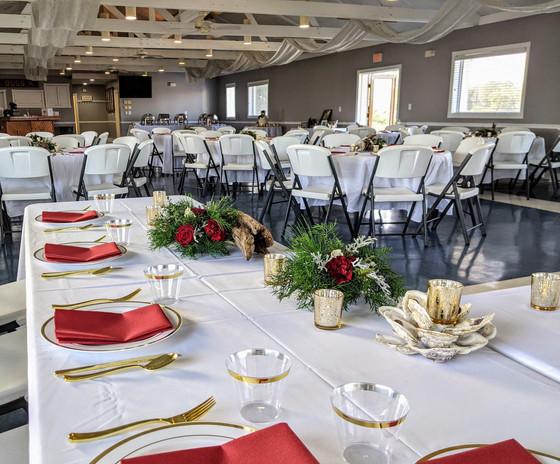 Goldbug Island wedding reception
