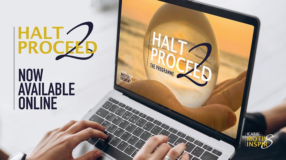 HALT2PROCEED_Online Programme_ ad_1KEV .