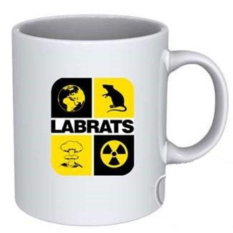 LABRATS Square Logo Mug