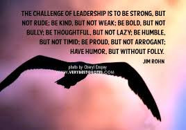 Strong Leadership - is it in all of us?