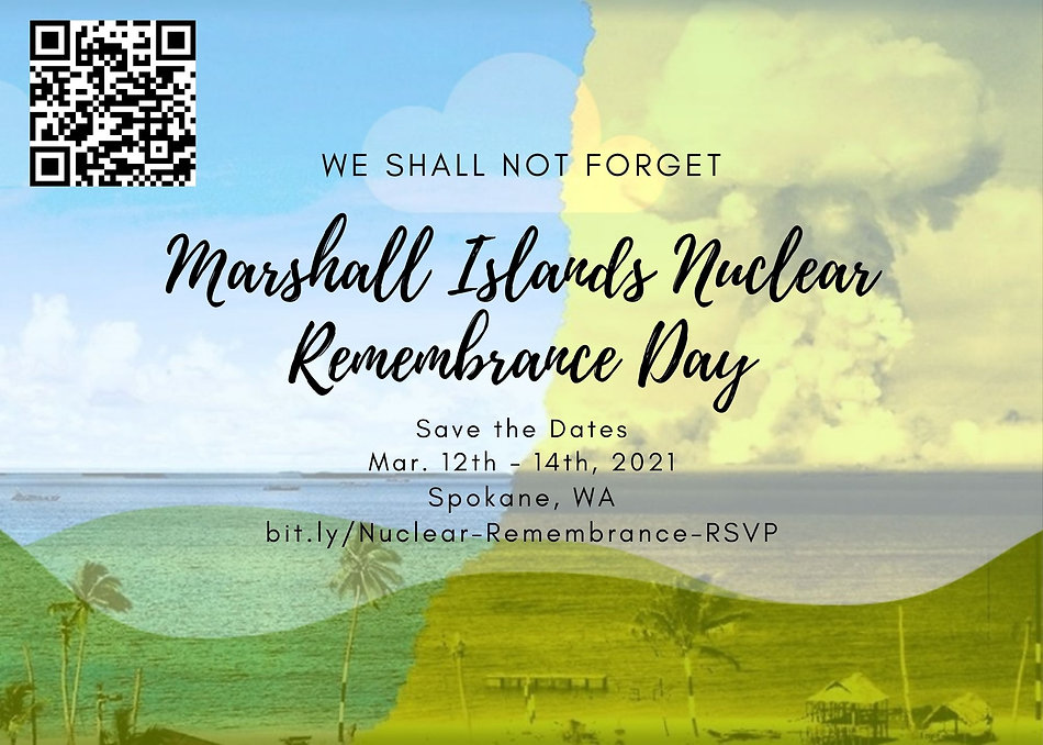 2021 Marshall Islands Nuclear Remembranc