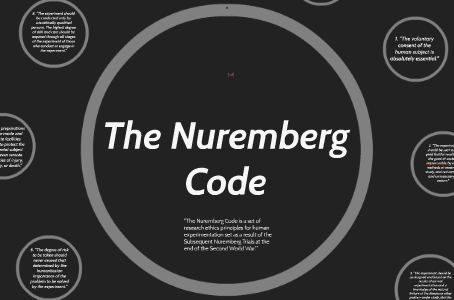Did Nuclear Testing break the Nuremberg Code?