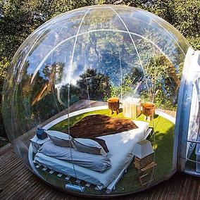 Bubble tent надувная палатка.png