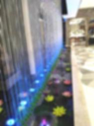 Цифровой рекламный фонтан
