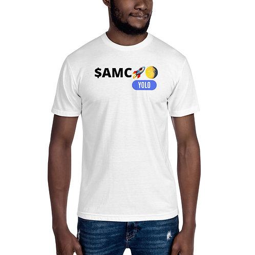 $AMC To The Moon White