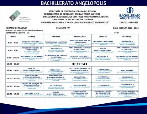 5° B Bachillerato