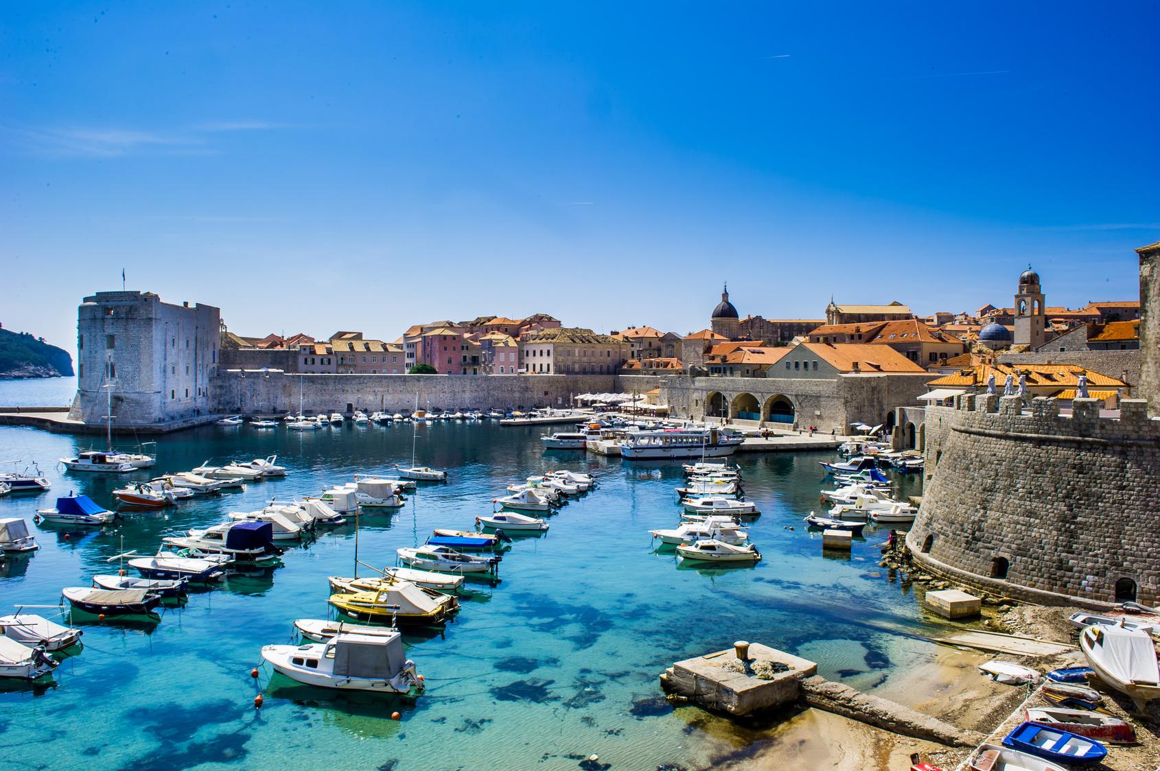 Matka Kroatiaan, Split, Dubrovnik