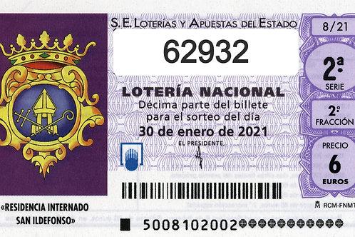 SORTEO 6/21 Nº62932