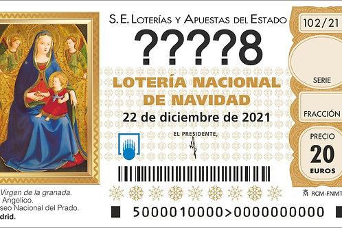 SORTEO 102/21 Nº????8