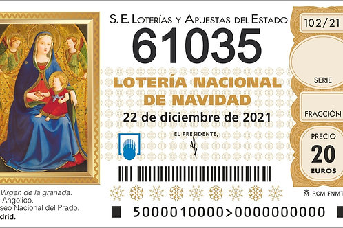 SORTEO 102/21 Nº61035