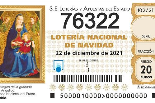 SORTEO 102/21 Nº76322
