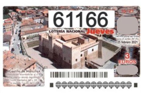SORTEO 15/21 Nº61166