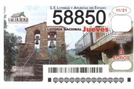 SORTEO 11/21 Nº58850