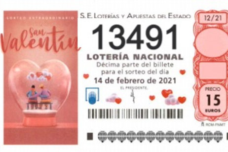 SORTEO 12/21 Nº13491