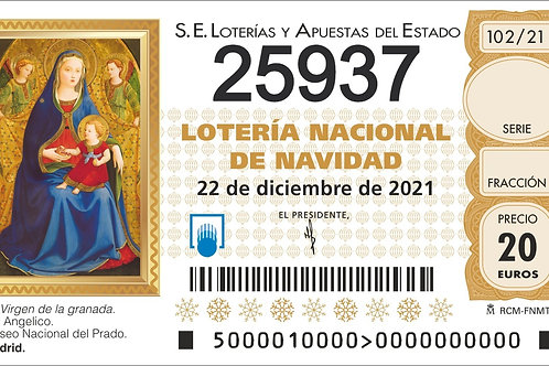 SORTEO 102/21 Nº25937
