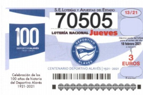 SORTEO 13/21 Nº70505