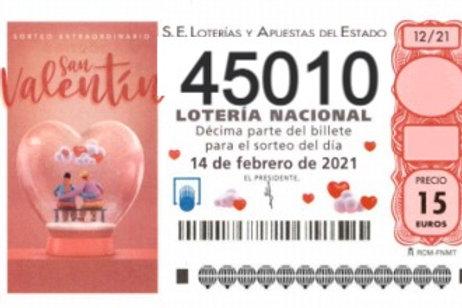 SORTEO 12/21 Nº45010