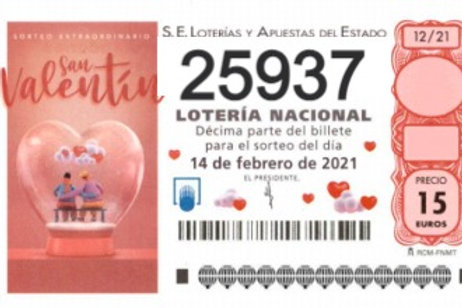 SORTEO 12/21 Nº25937