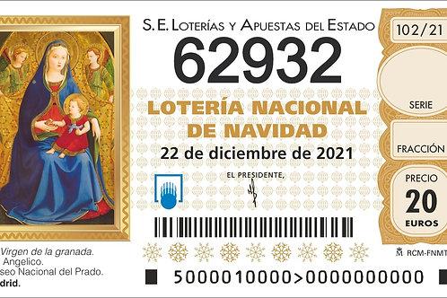 SORTEO 102/21 Nº62932