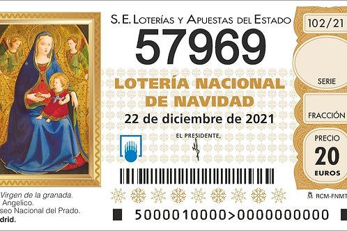 SORTEO 102/21 Nº57969