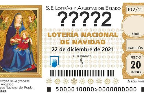 SORTEO 102/21 Nº????2