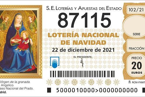 SORTEO 102/21 Nº87115