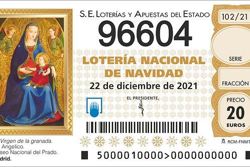 SORTEO 102/21 Nº96604