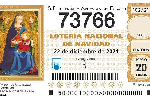 SORTEO 102/21 Nº73766
