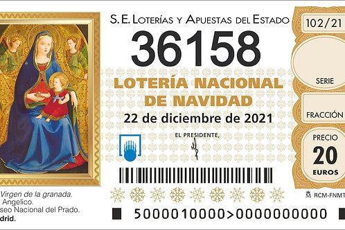 SORTEO 102/21 Nº36158