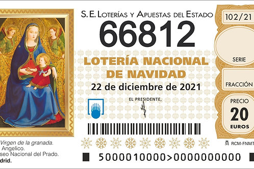 SORTEO 102/21 Nº66812