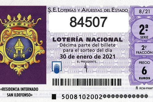 SORTEO 6/21 Nº84507
