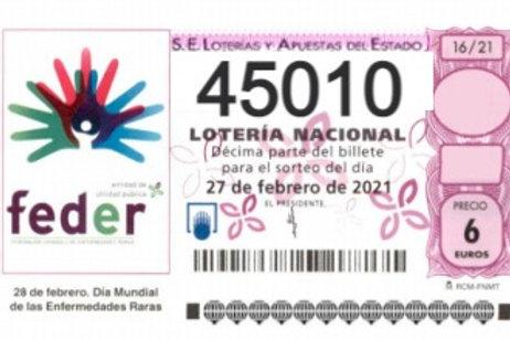 SORTEO 16/21 Nº45010
