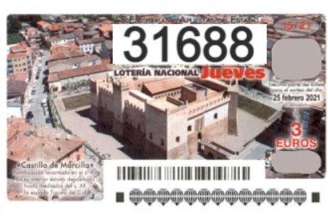 SORTEO 15/21 Nº31688