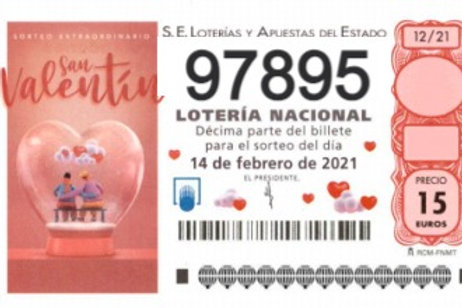 SORTEO 12/21 Nº97895