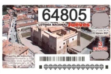 SORTEO 15/21 Nº64805
