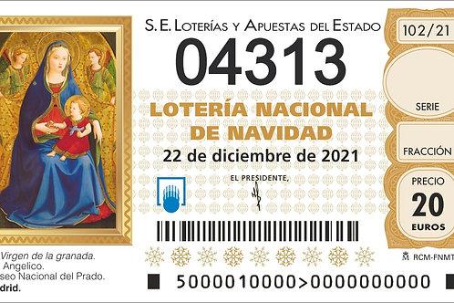 SORTEO 102/21 Nº04313