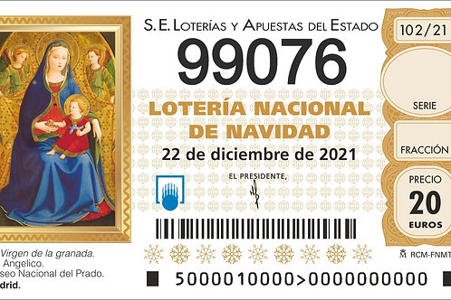 SORTEO 102/21 Nº99076